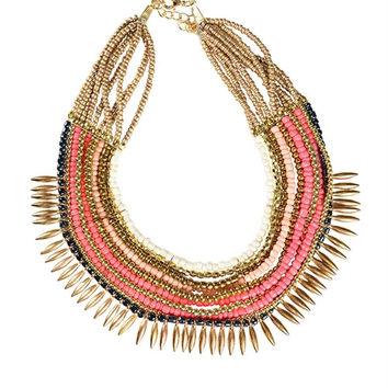 Vasiya Necklace- Coral