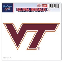 "NCAA Virginia Tech Multi-Use Colored Decal, 5"" x 6"""