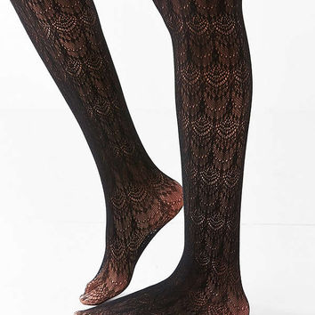 Out From Under Scallop Lace Tight | Urban Outfitters