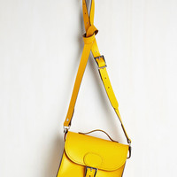 Vintage Inspired Styled for Miles Bag in Sunflower by Brit-Stitch from ModCloth