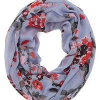 David & Young 'Ditsy Cherry Blossom' Infinity Scarf | Nordstrom