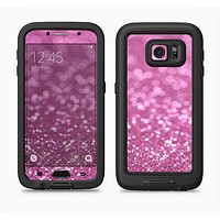 The Pink Unfocused Glimmer Full Body Samsung Galaxy S6 LifeProof Fre Case Skin Kit