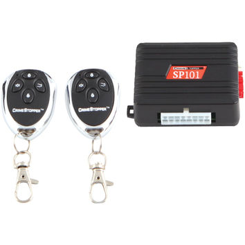 Crimestopper 1-way Alarm & Keyless Entry System