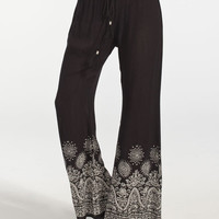 Patrons Of Peace Womens Pants Black  In Sizes
