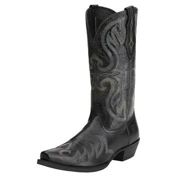 Ariat Men's Blackhawk Boots - Black Deertan -10014147