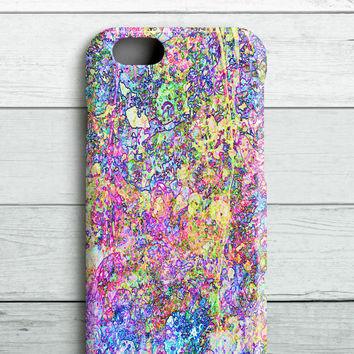 Psychedelic Grunge iPhone Case - Wrap Around Design SlimFit Case. iPhone 5 case, iPhone 6 case, iPhone 6 plus case.