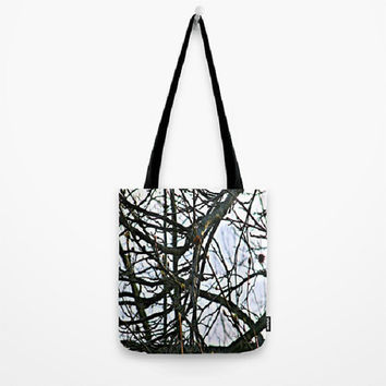 Trees, Nature, Renewal, Spring, Transition - Tote Bag-3 Sizes Available - Grocery, Beach, Busy Mom, Coworker, Teacher -Made To Order-RNL#81
