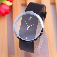 CK Men's and Women's Stylish Stone Watch F