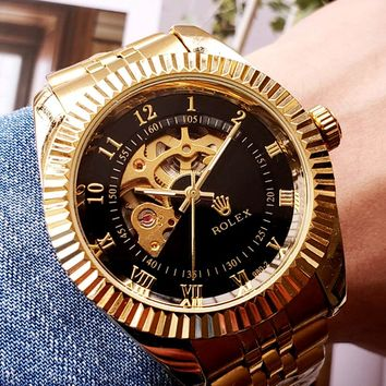 Rolex Tide brand high-end wild men and women mechanical watches gold