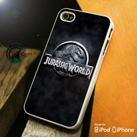 Jurassic World Logo In Sky iPhone 4 5 5c 6 Plus Case, Samsung Galaxy S3 S4 S5 Note 3 4 Case, iPod 4 5 Case, HtC One M7 M8 and Nexus Case