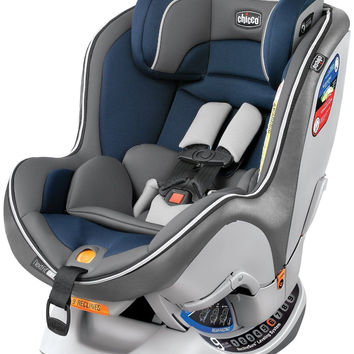 Chicco NextFit Zip Convertible Child Safety Easy Install Car Seat Sapphire