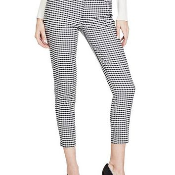 Marilyn Gingham Cropped Pants at Guess