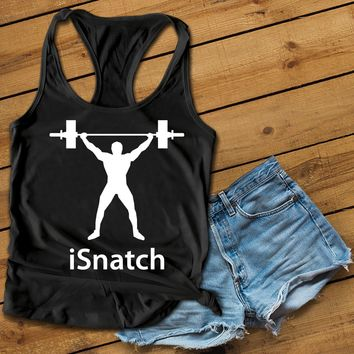 Isnatch Women's Ideal Racerback Tank