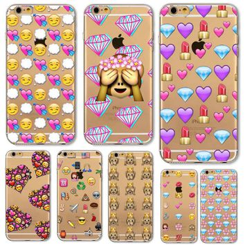 Emoji Fun Apple iphone 4 4s 5 5s SE 5C 6 6s 6 plus