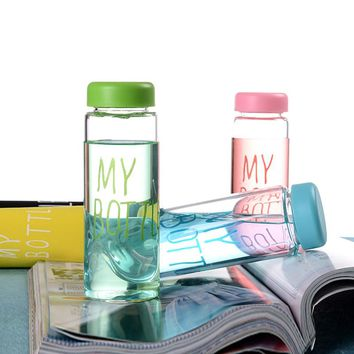 Water bottles hot sale creative juice tea coffee thermos nice readily Lightweight and portable space Storage bottle cups