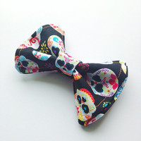 Day of the Dead Bow Tie, Sugar Skull, Doctor Who Baby, Bow Tie, Bow Ties Toddler, Newborn Bow Tie, Doctor Who, Bowtie, Boys Bow Tie