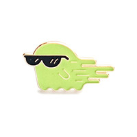 Cool Dude Ghost Lapel Pin