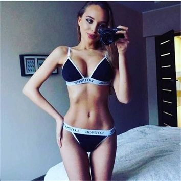 Women's Fashion Casual Swimwear Set Swimsuit Bikini [9408298636]