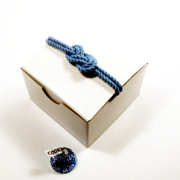 10 Nautical Wedding Favor Boxes Wedding Infinity Knot Gift Box, Tie the Knot, Nautical Knot Party Favor Box - Brown Kraft Paper Box