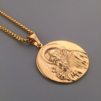 Shiny Stylish Gift Jewelry New Arrival Hot Sale Fashion Hip-hop Club Necklace [6542784387]