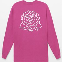 OBEY Mira Rosa Pigment Long Sleeve T-Shirt at PacSun.com