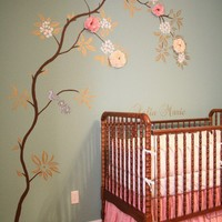 Baby Girl's Nursery Ideas - Decorating Divas ~ Home Interior Decorating Ideas a