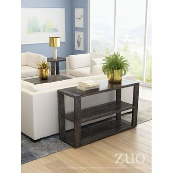 Zuo Skyline Console Table Gray