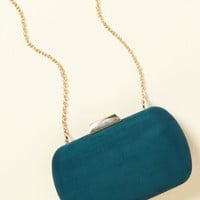 Posh Particulars Clutch in Teal | Mod Retro Vintage Wallets | ModCloth.com