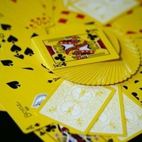 Bicycle Yellow Deck Playing Cards