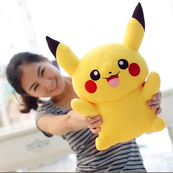 Hot Sale 22cm  Pikachu Plush Toys Very Cute Pokemon Plush Toys for Children's Gift Cartoon Peluche Pokemon Pikachu Plush Doll