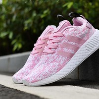 Best Deal Online Adidas NMD R2 Primeknit Pink Women Shoes