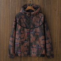 Men's Unique Vintage Slim Fit Quilted Lightweight Hooded Jackets