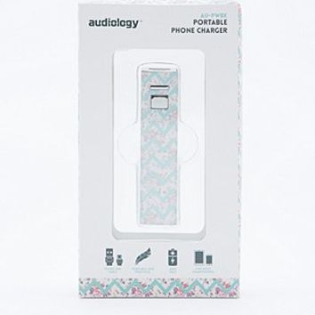 Audiology Portable Phone Charger in Floral Print - Urban Outfitters