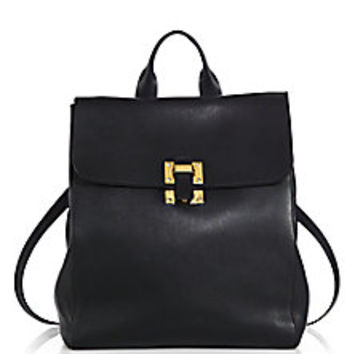 Sophie Hulme - Soft Flap Backpack - Saks Fifth Avenue Mobile