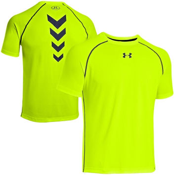 Under Armour Combine Authentic Training Performance T-Shirt - Neon Yellow