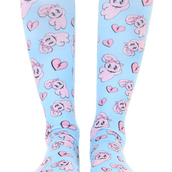 BUNNY KNEE HIGH SOCKS