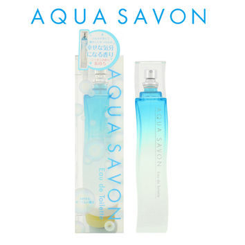 AQUA SAVON aqua soap fragrance EDT 80mL men's Lady's of the soap loving