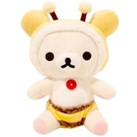 Korilakkuma Honey Bee Seated Plush