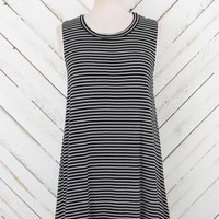 Altar'd State Brooklyn Stripes Tank in Black | Altar'd State