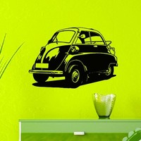 Wall Decals Vinyl Sticker Decal Classic Old Mini Car Housewares Wall Decor Home Interior Design Art Mural Boys Room Kids Bedroom Dorm Z766