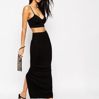 ASOS Maxi Tube Skirt with Back Vent