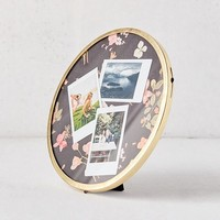 "Round Metal 8"" Picture Frame 
