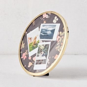 """Round Metal 8"""" Picture Frame   Urban Outfitters"""