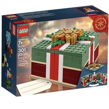 Lego 40292 Buildable Holiday Present VIP Exclusive 301 Pieces New with Box