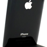 Generic Desktop Charger for iPhone 4 - Retail Packaging - Black