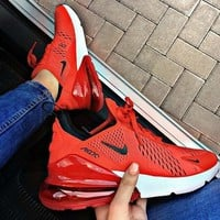 Nike Air Max 270 Red Sneaker
