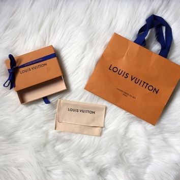 Louis Vuitton Shopping Bag Dustbag Box Small