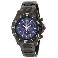 Invicta 6411 Men's Specialty Python Gun Metal Stainless Steel Chronograph Watch