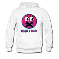 Blue and pink freaks and geeks Hoodie | Spreadshirt | ID: 11735975