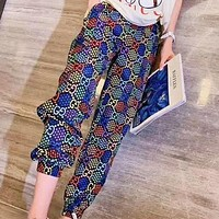 GUCCI New fashion more letter star print women pants